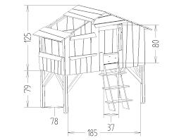 dimension chambre enfant dimensions du lit enfant cabane mathy by bols chambre thibault