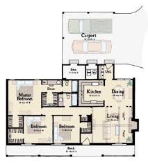 Small Ranch House Small Ranch Floor Plans House Plan Ottawa 30 601 Home With Carport