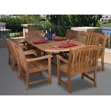 Teak Dining Room Furniture Teak Outdoor Dining Sets For Less Overstock Com