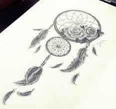 dreamcatcher sleeve tattoos dreamcatcher roses feathers by pokiha drawings