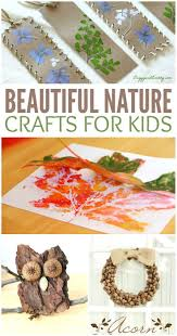 111 best kids crafts nature images on pinterest nature crafts
