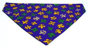 dog collar mardi gras chevron meet me at mardi gras green gold and yellow fleur de lis on purple