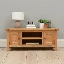 Vancouver Oak Coffee Table - montague oak wide tv stand with 2 doors up to 53