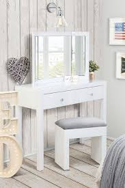 Glass Vanity Table With Mirror Best 25 Handmade Dressing Table Stools Ideas On Pinterest