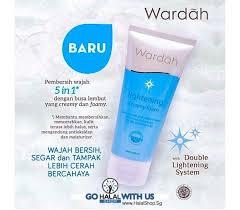 Pembersih Muka Wardah Lightening halal cosmetics singapore wardah lightening foam more