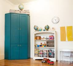 Computer Armoire Ikea Painted Alve Diy Home Pinterest Corner Workstation