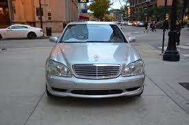 2001 Benz 2001 Mercedes Benz S Class S600 Stock B643b For Sale Near