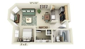 small floor plan studio apartment floor plans
