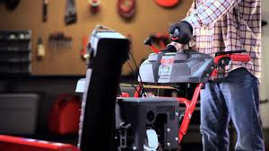two stage snow throwers chute controls from troy bilt youtube
