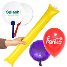 promotional fans promotional cheer up sticks balloons fans with printing