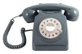 telephone bureau gpo 746 telephone retro vintage style desk phone working rotary