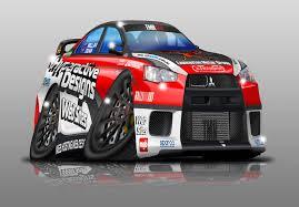 mitsubishi race car hyperactive racing photoshop our race car evoxforums com