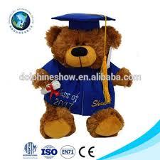 personalized graduation teddy 2017 graduation stuffed animal gift personalized graduation teddy