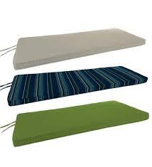 sunbrella bench cushion outdoor cushions plow u0026 hearth