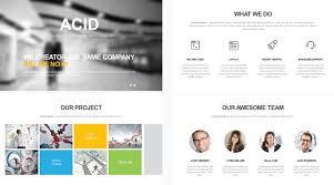 company profile powerpoint template free free company profile