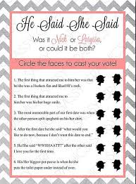 guess who bridal shower game questions wedding ideas pinterest