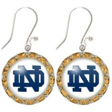 flirties earrings fan flirties earrings notre dame notre dame notre