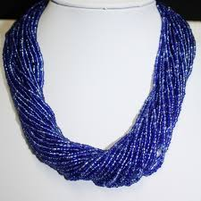 blue beads necklace images 50 blue beaded necklaces best 25 beaded necklaces ideas on jpg