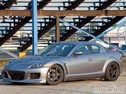 rx8 project mazda rx 8 adding grip and style modified magazine