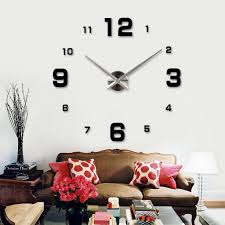 using wall clock for home decoration ward log homes
