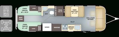 catalina rv floor plans two bedroom rv floor plans also coachmen catalina fkts collection