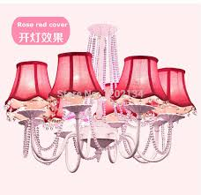 Chandeliers With Shades And Crystals by Compare Prices On Pink Chandelier Shade Online Shopping Buy Low