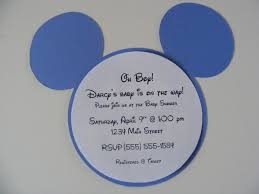 Free Mickey Mouse Baby Shower Invitation Templates - free baby shower invitation templates for a tags free