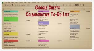 melodysoup blog the collaborative to do list google sheets to