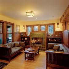 craftsman style homes interiors best craftsman style decorating interiors images liltigertoo
