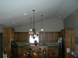 kitchen lighting vaulted ceiling kitchen home interior