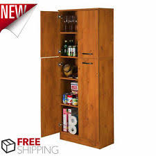 Storage Cabinets Kitchen Pantry Kitchen Storage Cabinets Ebay