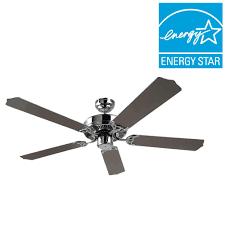 chrome ceiling fans ceiling fans u0026 accessories home depot