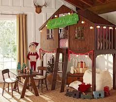 The Boo And The Boy Treehouse Beds - Treehouse bunk beds