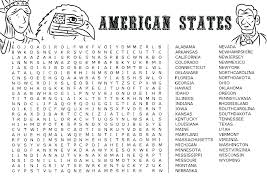 printable dinosaur word search beauteous 50 states laurenjohnson