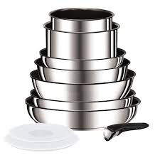 batterie cuisine induction tefal tefal ingenio preference batterie de cuisine 10 pièces l9409402 18