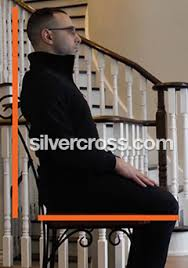 straight stair lifts silver cross