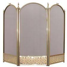 Free Standing Fireplace Screens by Fireplace Screens Ebay