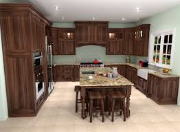 traditional white kitchen design 3d rendering nick walnut 3d kitchen rendering nick miller design