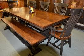 complete dining kitchen sets brices furniture mediterrian 7 pc table set w old souths bench