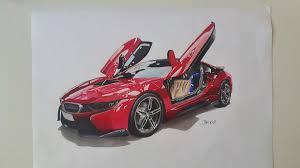 Bmw I8 Red - bmw i8 bekirselcuki draw to drive