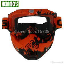 100 motocross goggles 100 brand new motocross goggles face dust mask with detachable