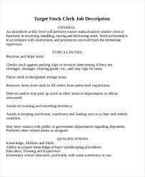stocker job description stocker job description also resume