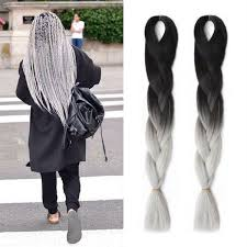packs of kanekalon hair jazzwave hair products crochet braids ombre kanekalon braiding