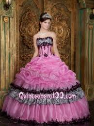 birthday dress pink gown strapless up taffeta 16 birthday dress
