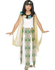 Egyptian Queen Halloween Costume Kids Egyptian Costume Ebay