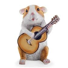 buy daryl the novelty guitar guinea pig garden ornament from