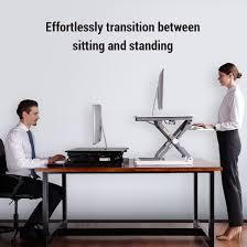 Standing Sitting Desk Standing Desk Converters Classicriser 35 Flexispot