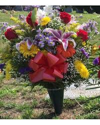 cemetery flower arrangements cemetery flowers delivery or up ny marine florists
