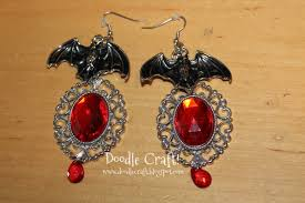 doodlecraft halloween jewelry and beaded spider