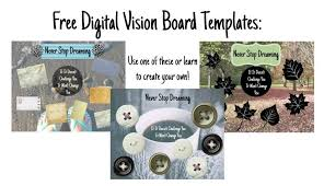 create a digital vision board laptop lifestyle business club
